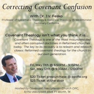 covenant theology fort worth